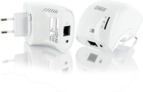 Schwaiger PCL 502M Duo Powerline netwerk adapters