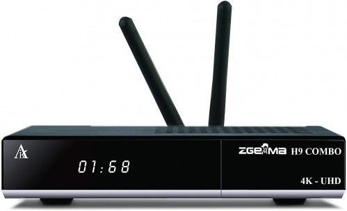 Zgemma H9 Combo 4K UHD hybride ontvanger DVB-S2X + DVB-T2/C