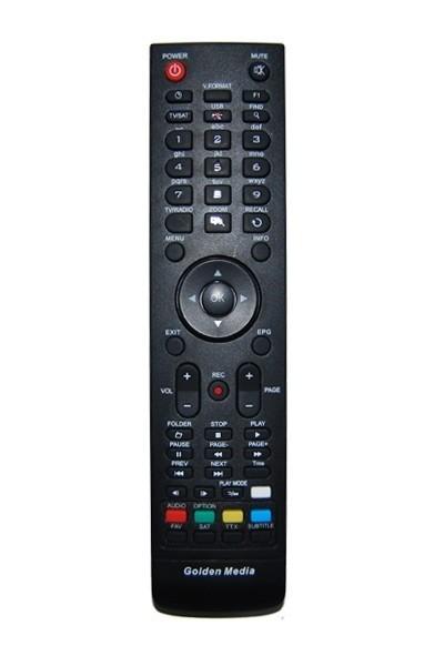 Golden Media Unibox 2, 9060, 9080 vervangende afstandsbediening, origineel
