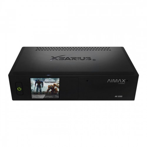 Xsarius Aimax Combo 4K UHD hybride ontvanger