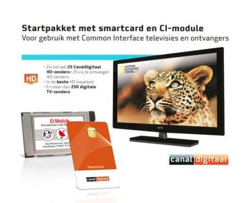 Canaldigitaal Startpakket met smartcard en CI-module