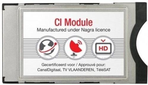 TV Vlaanderen CI+ Module inclusief smartcard