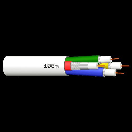 Coax kabel Quattro, 100 meter