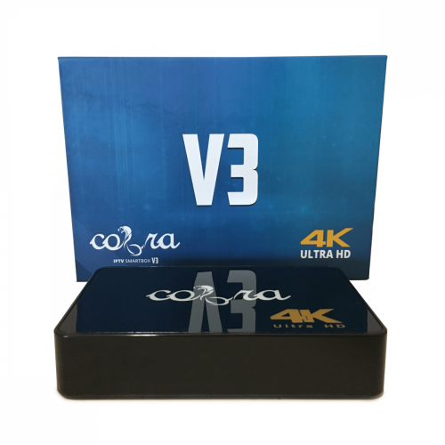 Cobra V3 4K IPTV Android box