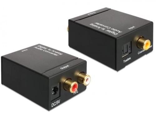 Audio converter, digitaal naar analoog