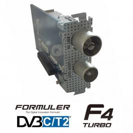 Formuler F4 Turbo DVB-C/T/T2 tuner