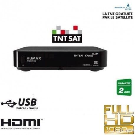 Humax TN8000HD + TNT SAT