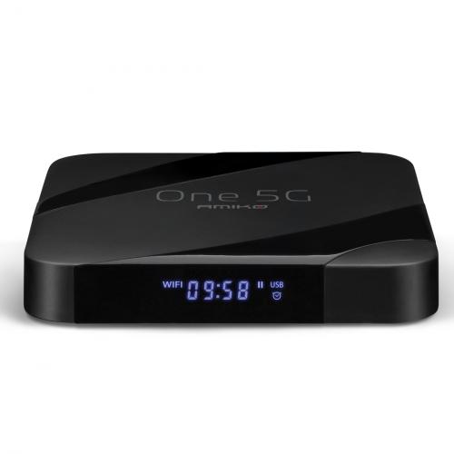 Amiko One 5G 4K UHD IPTV & Android box