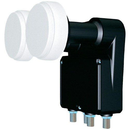 Inverto Monoblock Quad LNB 4.3° Feed-Opname 23 Mm, 80cm