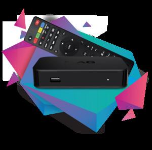 MAG 322 W1 IPTV ontvanger