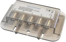 Maximum 4/1 DiSEqC Switch