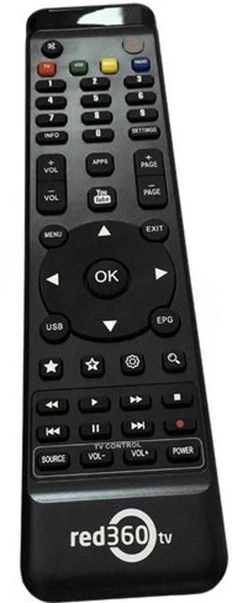 Red360 Mega HD vervangende afstandsbediening, origineel