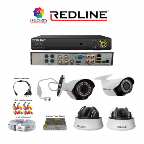 Redline HD Security Set 4 Platinum