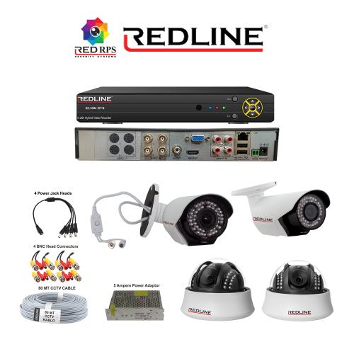 Redline HD Security Set 4A1