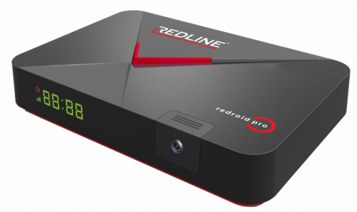 Redline Redroid Pro IPTV + DVBS2 4K, Android Box
