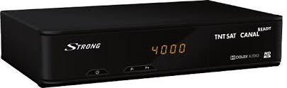Strong Digital TV SRT7404 (incl. TNT SAT smartcard)