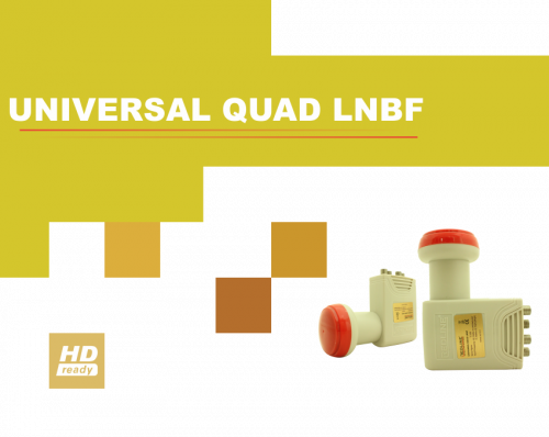 Redline Universal Quad LNB