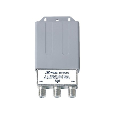 Strong 2 in 1 DiSEqC Switch Switch Outdoor