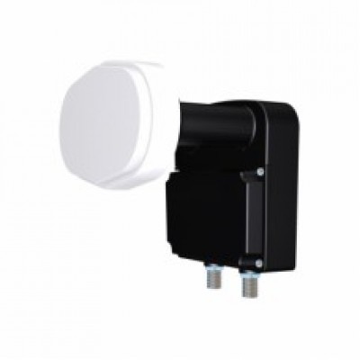 Inverto Twin Monoblock 23mm LNB 4.3°, 60cm